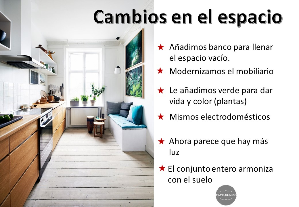 cocina cambios home staging